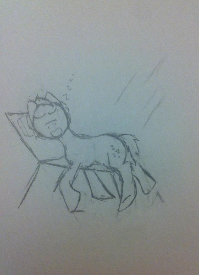 Catchin' Rays by Soren-the-Owl