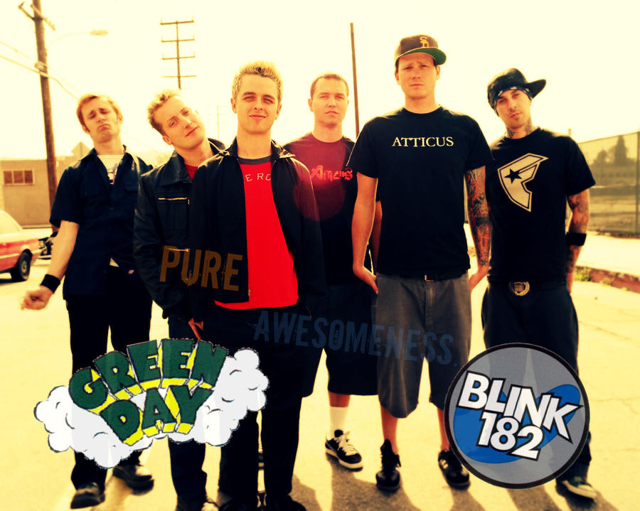 Blink 182 and Green Day Wallpaper by Sonnyhart on DeviantArt