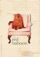 Red Baboon Flyer by blueplasticbag