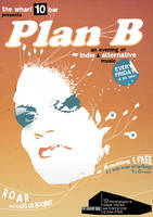'Plan B' Indie Flyer by blueplasticbag