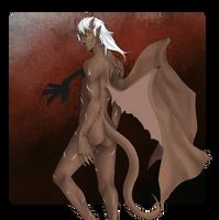 Demon Damien by MidnightZone
