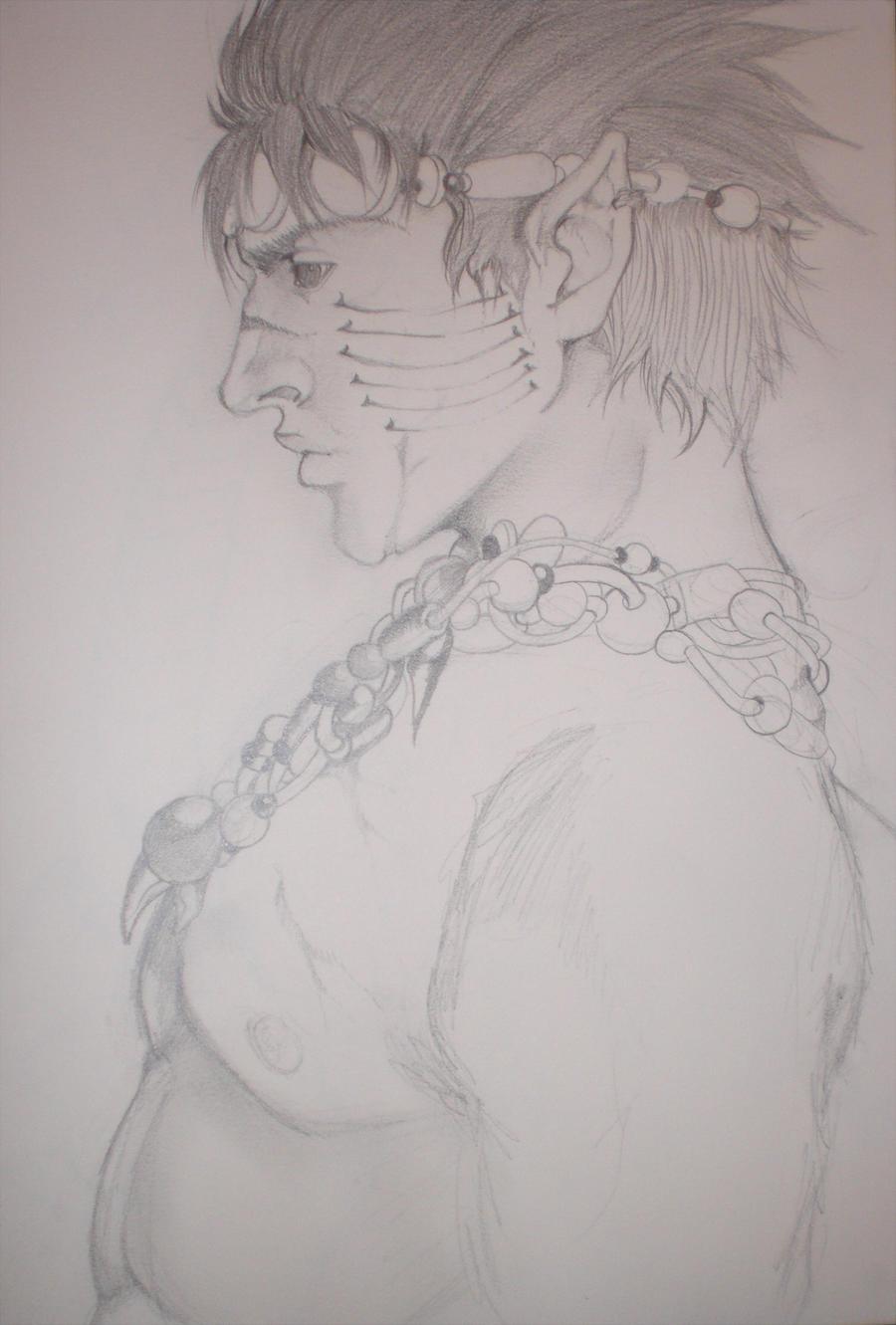 Ailin-Sketch by MidnightZone