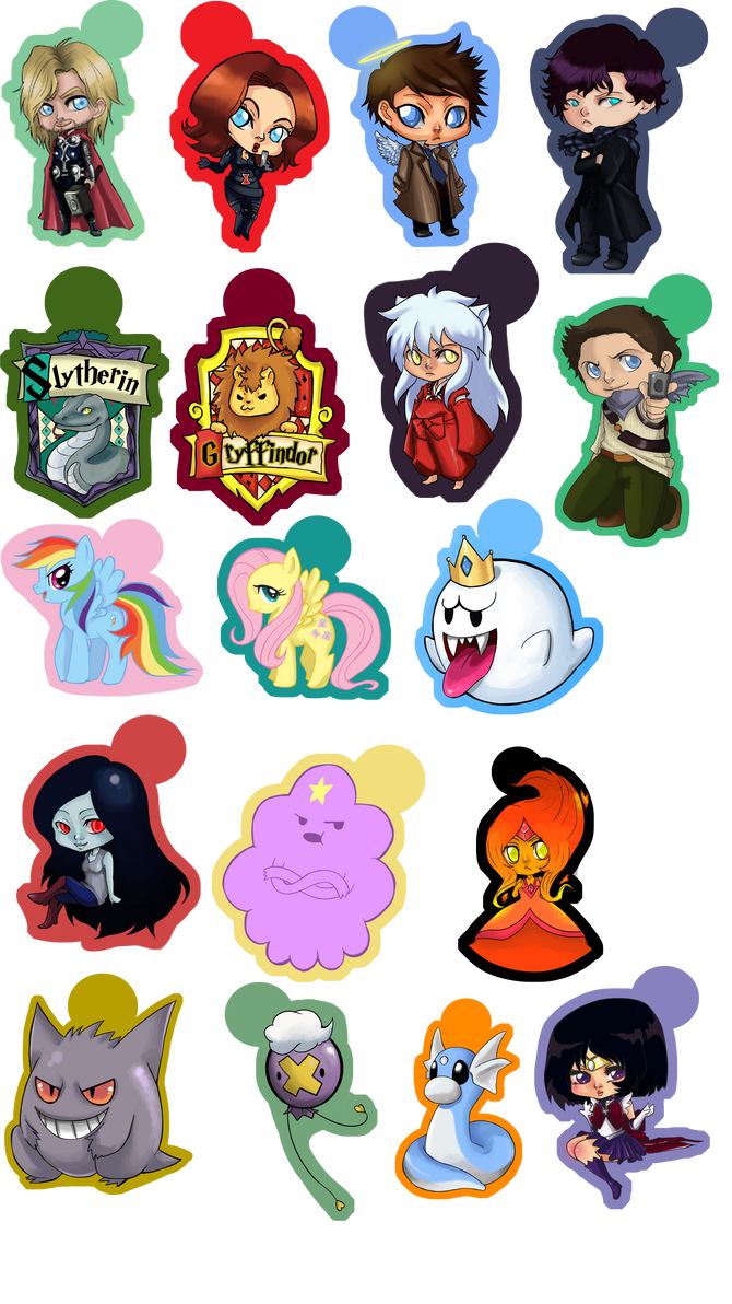 Keychains for Sale 3 by MidnightZone