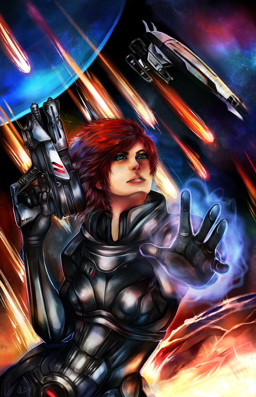 Mass Effect by MidnightZone