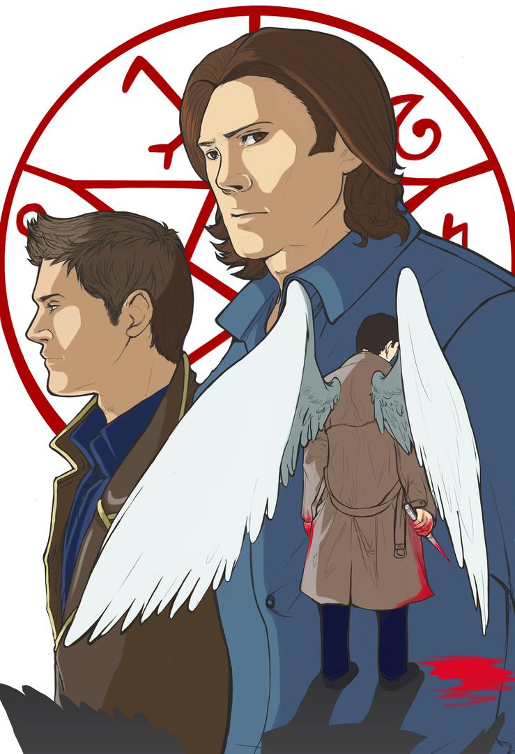 Supernatural Print by MidnightZone