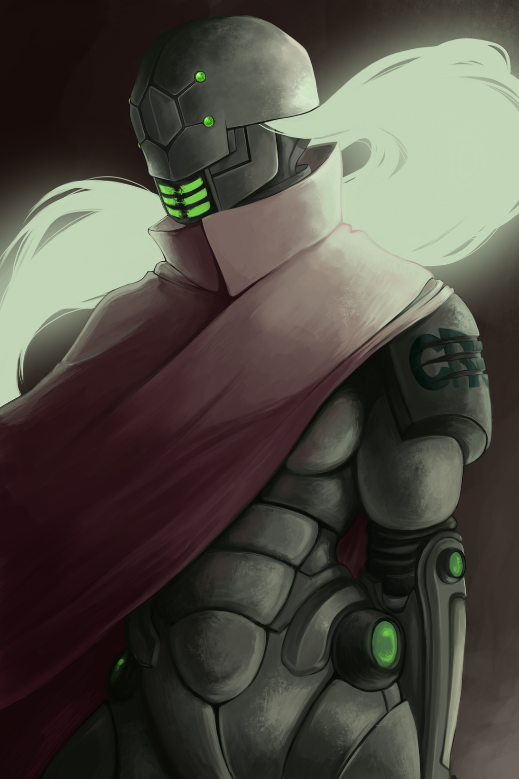 Just a Robot by MidnightZone