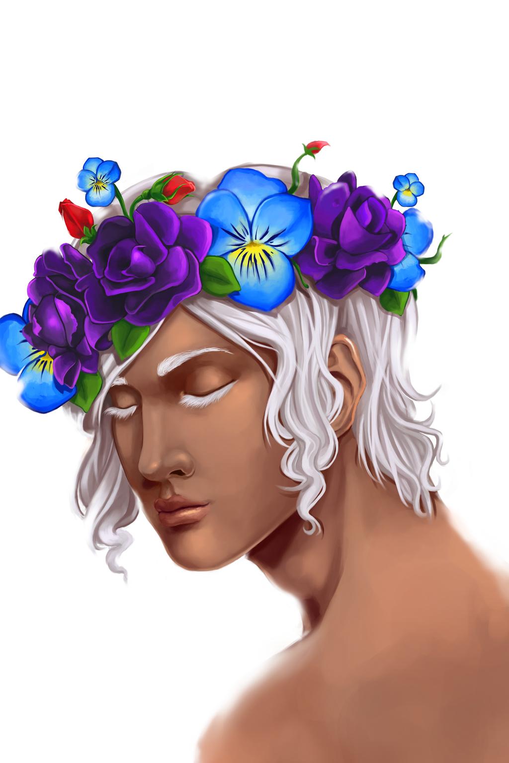 Flower Crown by MidnightZone