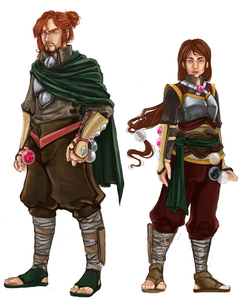 Spirit Hunters by MidnightZone