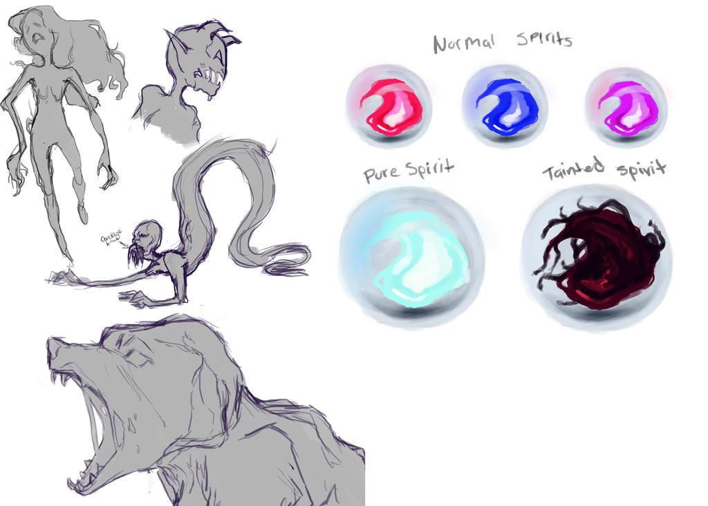 Spirits by MidnightZone