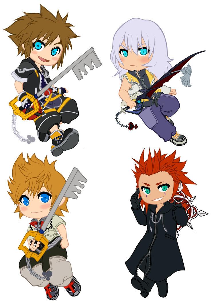 Kingdom Hearts Charm by MidnightZone