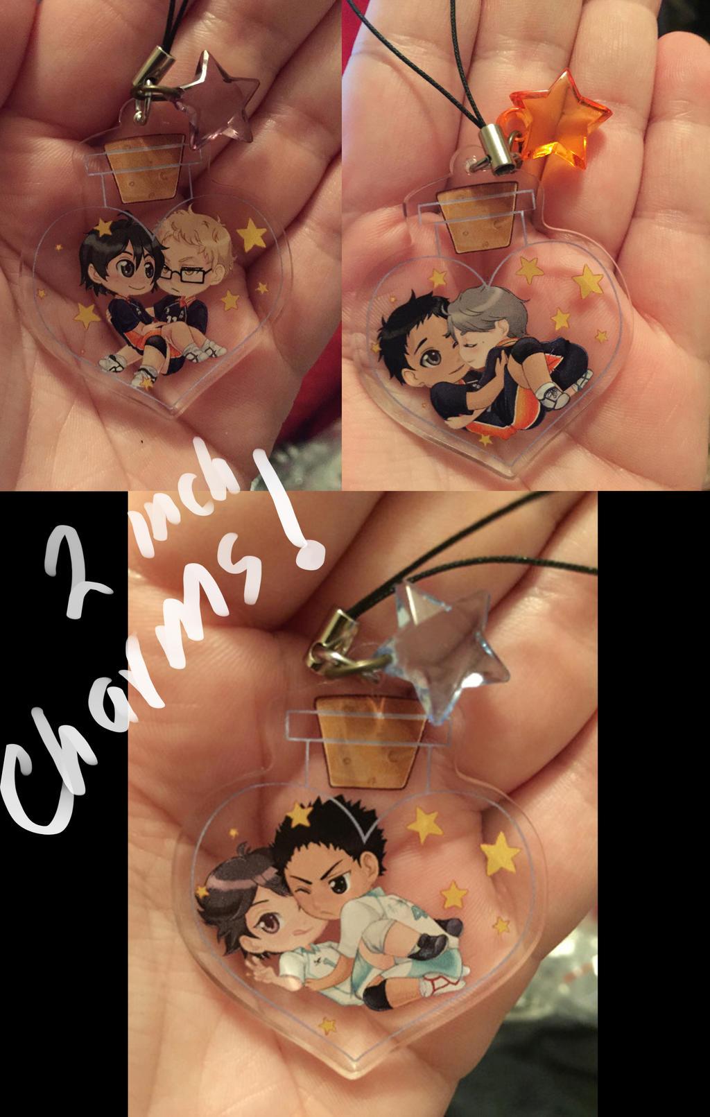 Haikyuu Love Potion Charm Preorder by MidnightZone