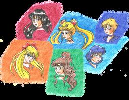 Bishuojo Senshi Sailor Moon by LukaszMuzial