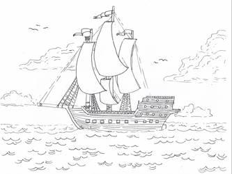 Ship by xXidrawXx