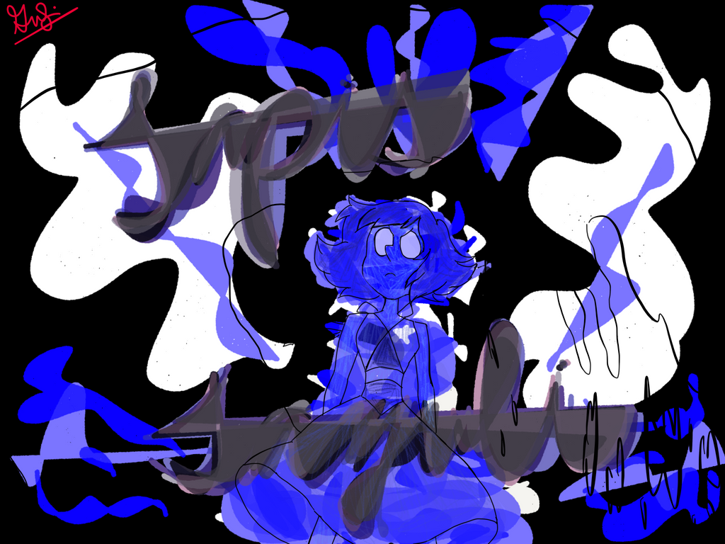 steven universe fan art lapis lazuli by beatrixg on