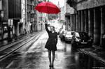 [ Red Umbrella ] by RudolfLangemann