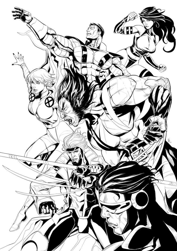 X-men by erufan