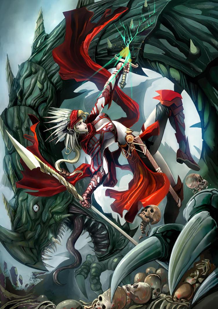 Dragon Slayer by erufan