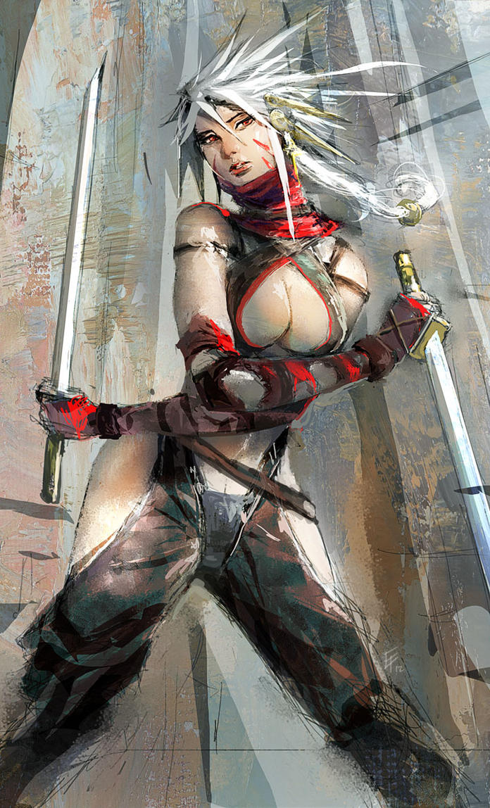 Ninja training by erufan