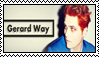 Gerard Way Stamp by ChemicalAmbulance