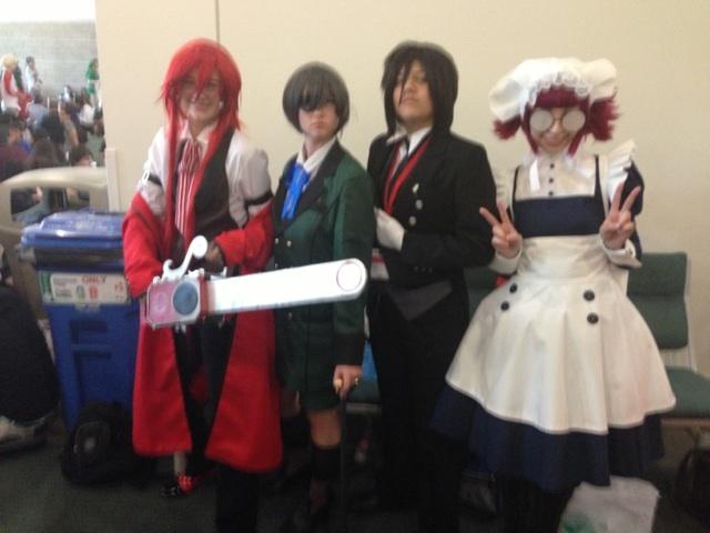 Anime Expo 2013 Black Butler By MaxGomora1247