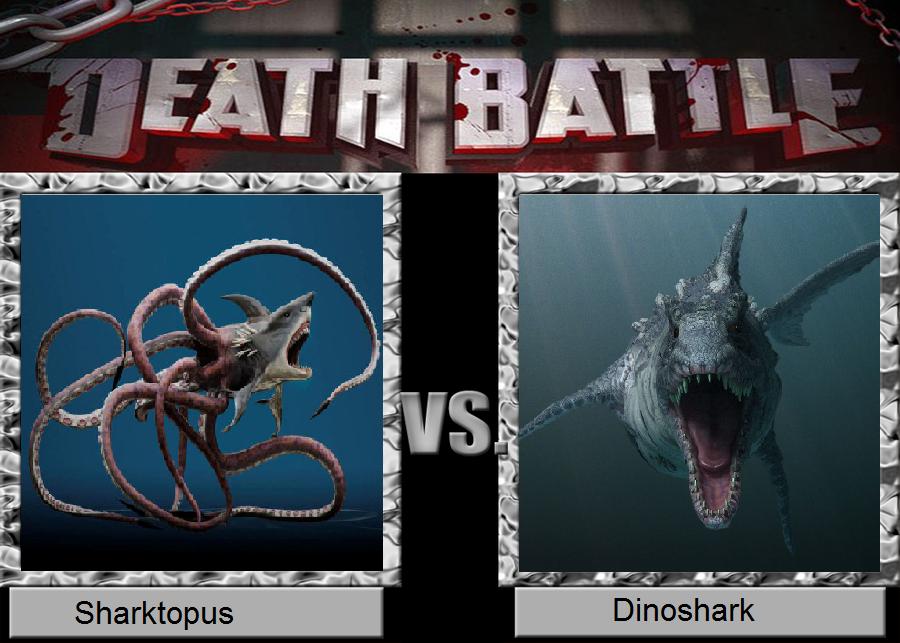 Death Battle Idea: Sharktopus vs. Dinoshark by ...