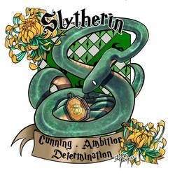 Slytherin by Masked-Patatoe