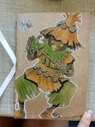 skull kid by Masked-Patatoe