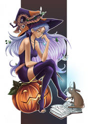Witch Trinquette by Masked-Patatoe