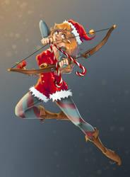 Christmas Elf by Masked-Patatoe