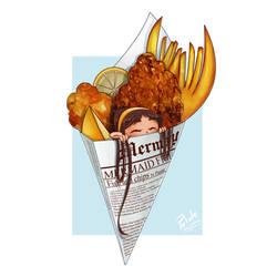 Fish And Chips mermaid
