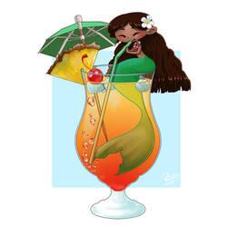 Cocktail mermaid