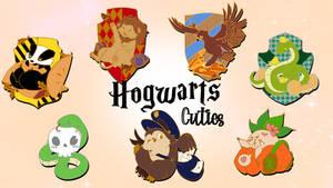 Kickstarter Hogwarts Pins
