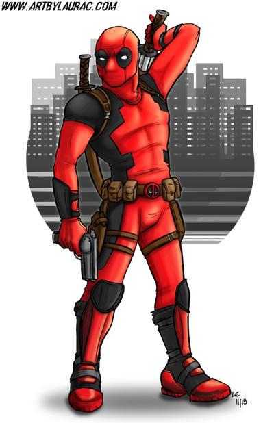 Deadpool by greymoonx