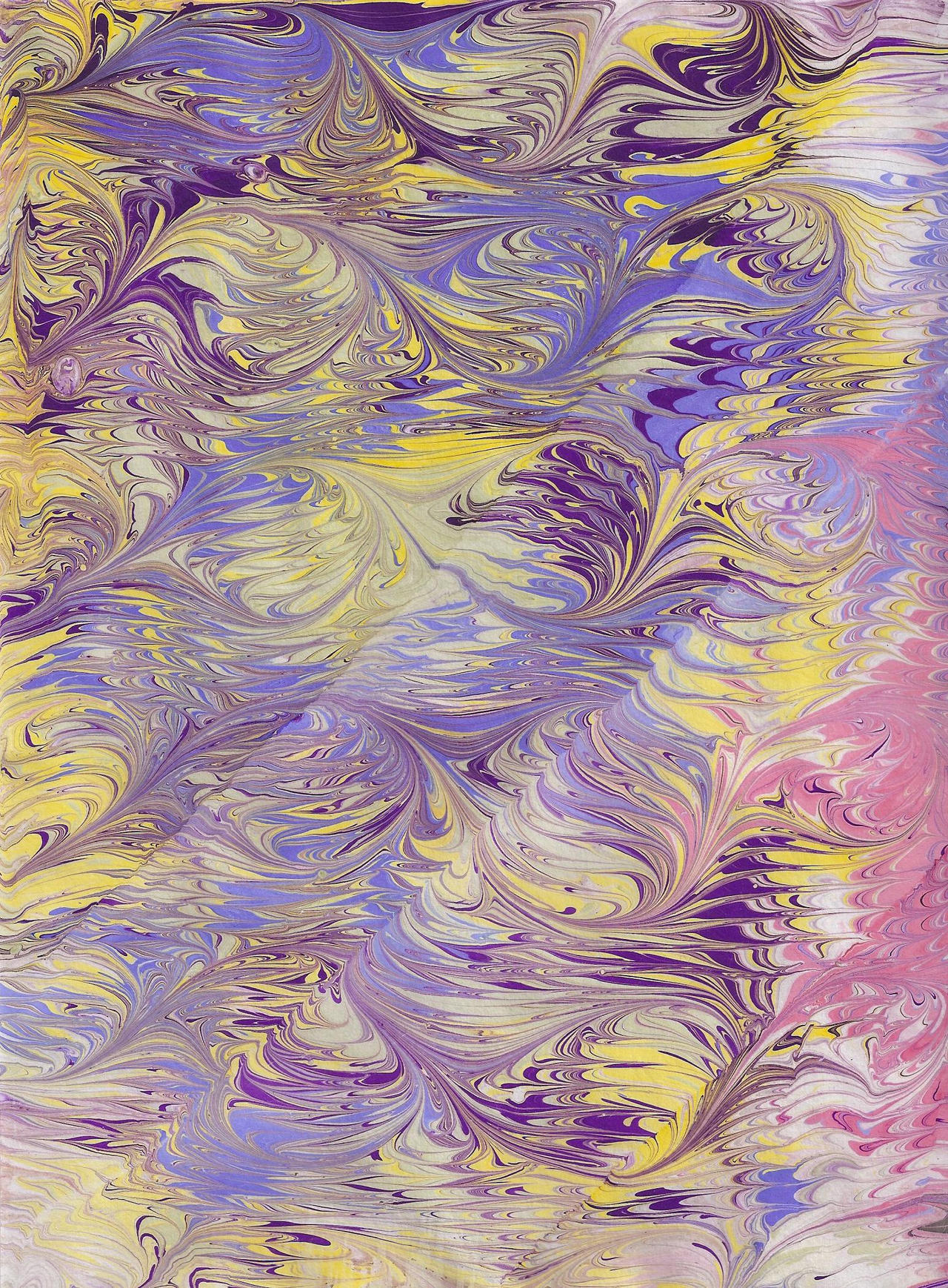 More fun with Paper Marbling by Creagan-an-Fhithich