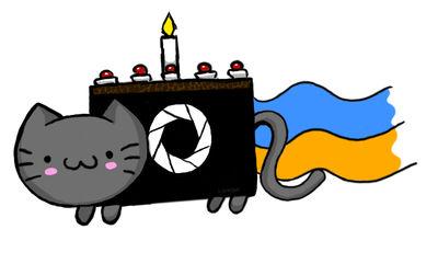 Portal Nyan Cake by Lukwarm