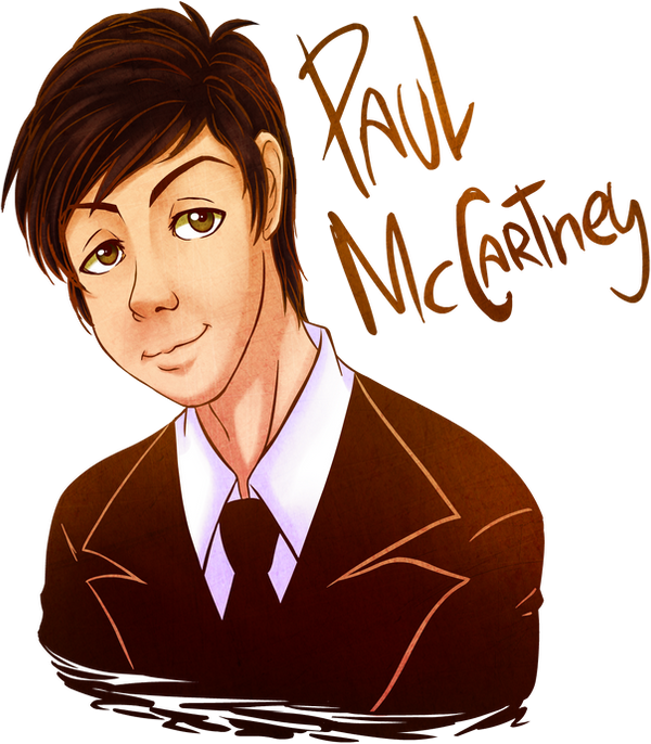 Paul Mccartney Transparent