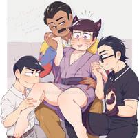 B-day gift_nekomata ichi and his harem