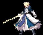 Saber ( fate, Dengeki Bunko style)