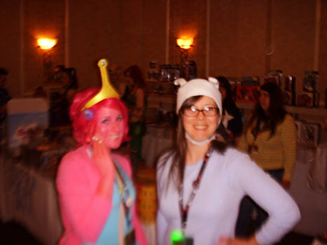 Fionna and Princess Bubblegum Fixed