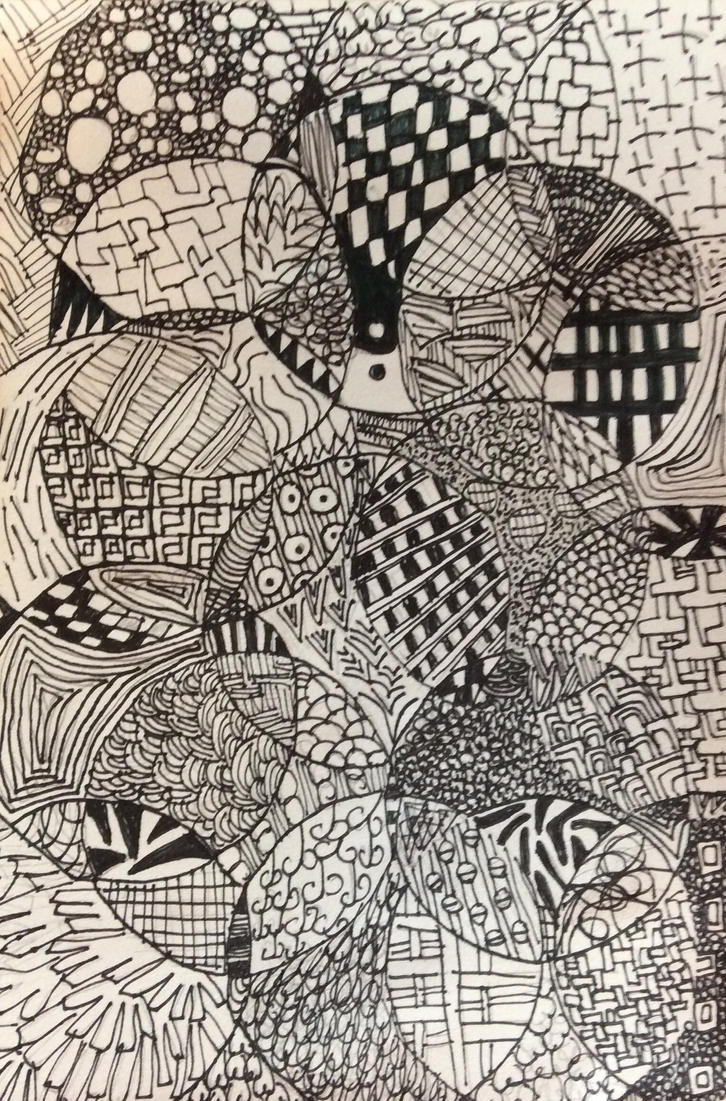 sketch patterns amazing abstract pen sketch seamless pattern set
