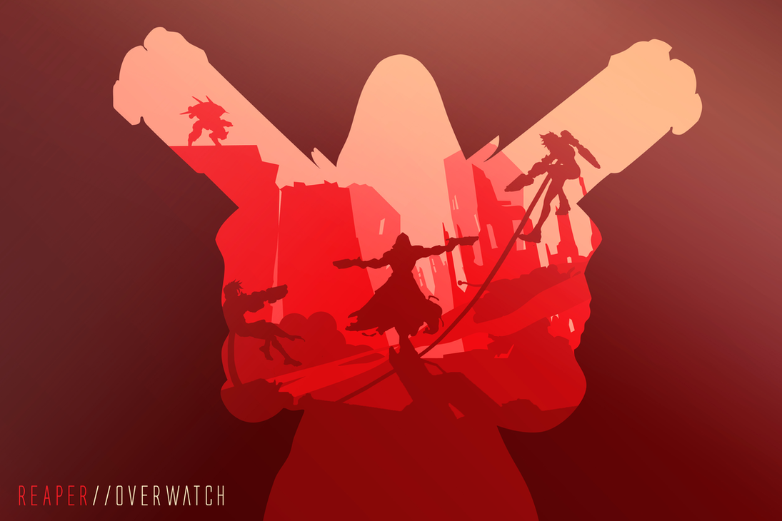 Reaper overwatch by mishudo on deviantart - Overwatch christmas wallpaper ...