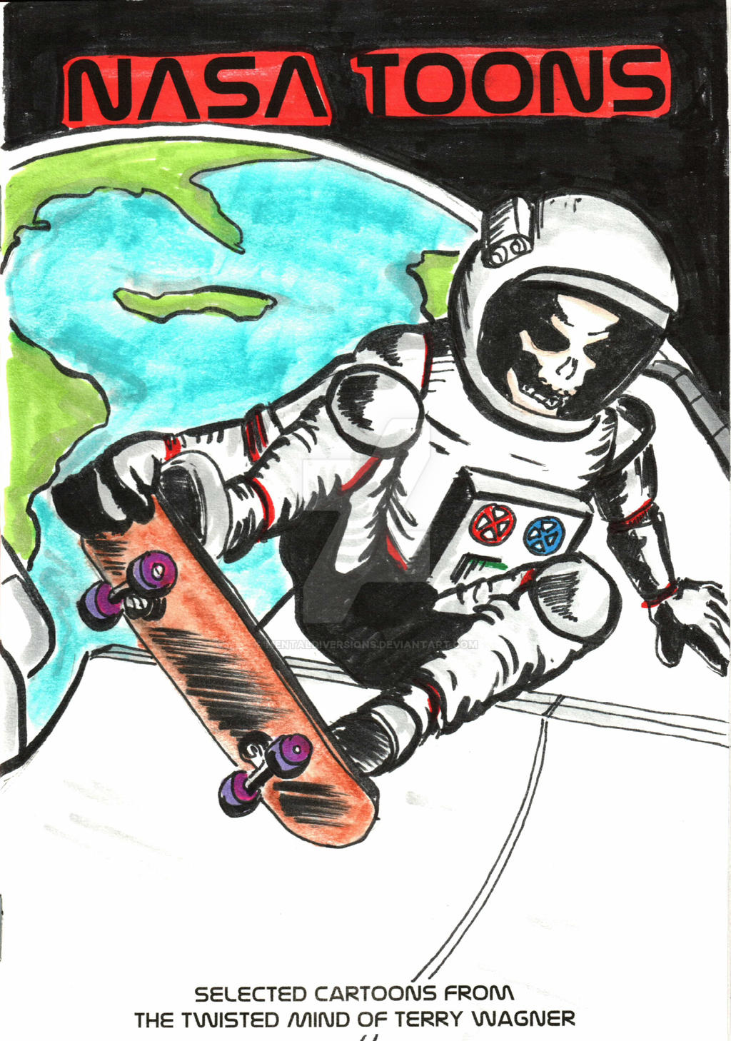 Space Skater by mentaldiversions
