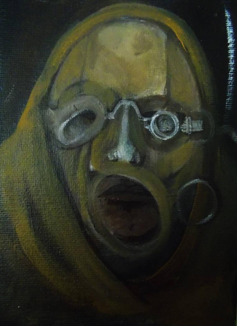 Rubber Head. by BlackSerpentsIndigo