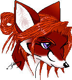 Fox Head by the-bad-cat