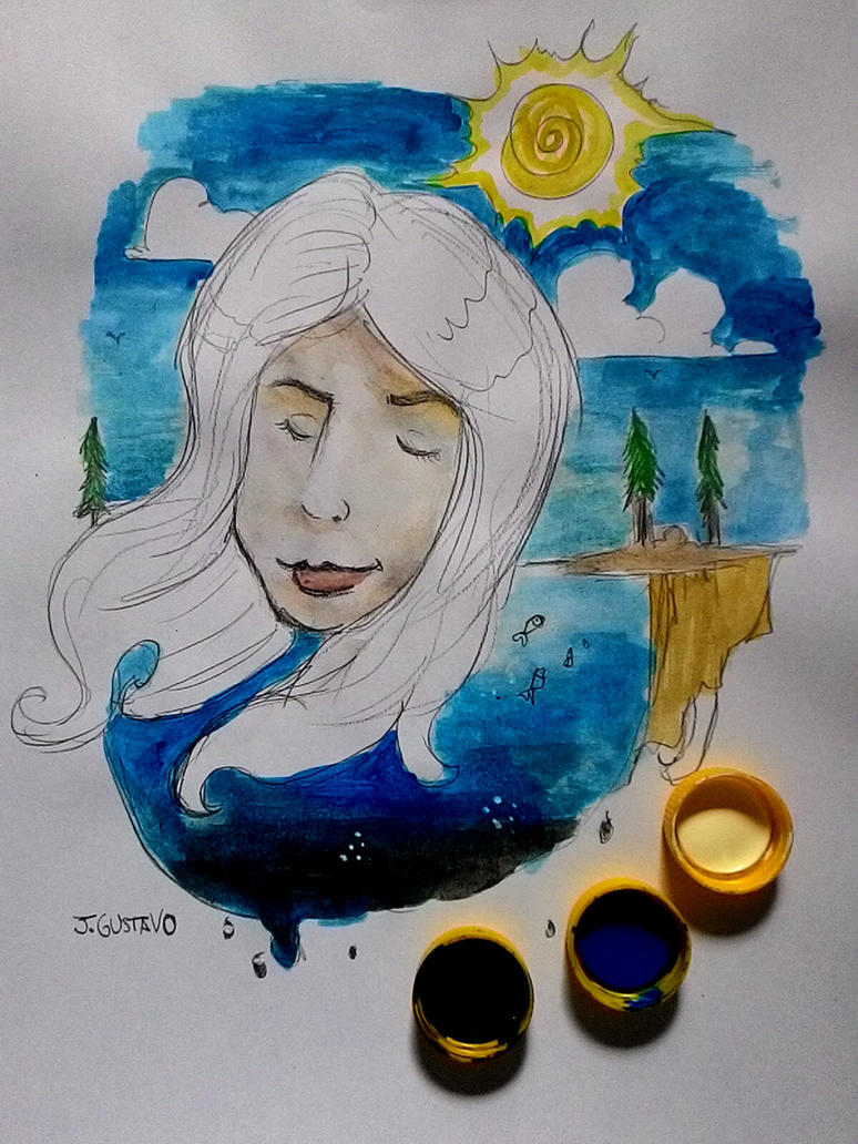 Sunshine by jgustavodesenho