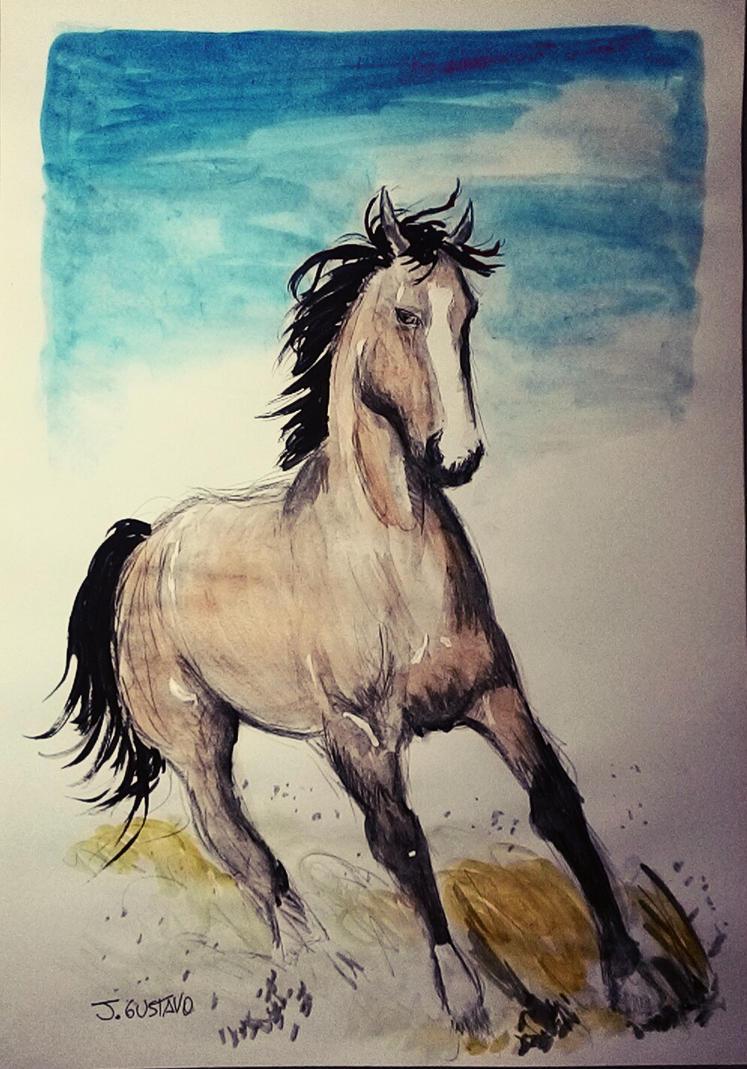 Watercolor by jgustavodesenho