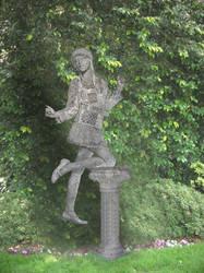 The new Garden Statue
