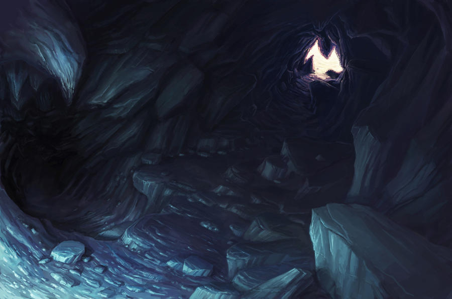 Výsledek obrázku pro anime cave