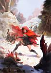 Akaneiro Demonhunters Comic cover#1