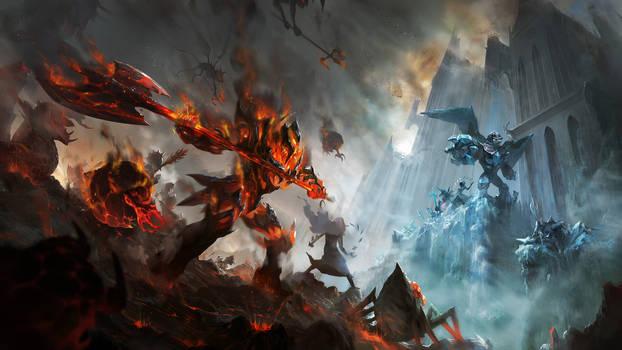 Satan's Anvil by mad-jojo